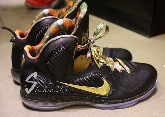 online store a1f6f 4be93 Nike LeBron 9  Watch The Throne  – Detailed Images   Till I m F mou